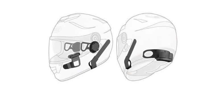 componentes casco bluetooth