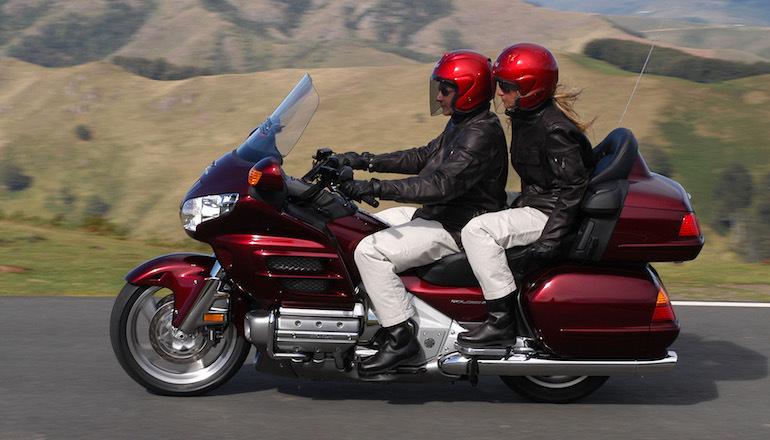 viaje con intercomunicador moto